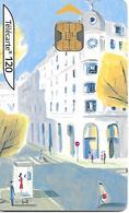 TC-a-PUBLIC-F1315A-120U-OB2-01/04-LA VILLE 3-N° Maigre-Utilisé-TBE- - France