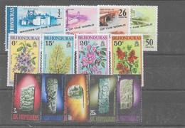 3 Series De Hondura Británicas Nº Yvert 278/81, 282/85 Y 286/90 ** - Honduras Britannique (...-1970)