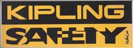 Sticker Autocollant Kipling Safety Monkey Aap Fashion Brand Aufkleber Adesivo Handbags Backpacks Totes Luggage - Autocollants