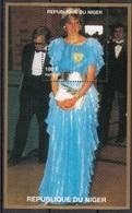 945i Niger 1997 Principessa Princess Of Wales Lady Diana  Abito Celeste   Sheet Nuovo  MNH - Niger (1960-...)
