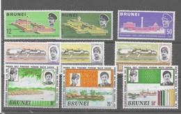 3 Series De Brunei Nº Yvert 152/54, 155/57 Y 161/63 ** - Brunei (1984-...)
