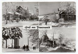 Allemagne  -- Gruss Aus  Franenwald -- Multivues (petite Animations) --timbre - Cachet - Allemagne