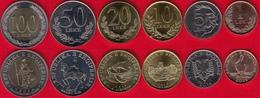 Albania Set Of 6 Coins: 1 - 100 Leke 2000-2016 UNC - Albania