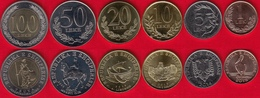 Albania Set Of 6 Coins: 1 - 100 Leke 2000-2016 UNC - Albanie