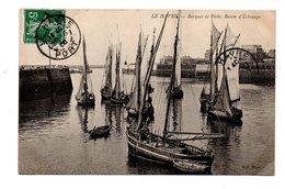 76 - LE HAVRE . BARQUES DE PÊCHE, BASSIN D'ÉCHOUAGE - Réf. N°19504 - - Port