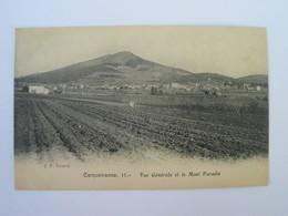 Cpa CARQUEIRANNE - Vue Générale Et Le Mont Paradis.. - Carqueiranne