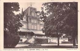 58 - POUGUES Les EAUX : Le SPLENDID HOTEL Vu Du Parc - CPA - Nièvre - Pougues Les Eaux