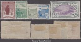 Les Cinq 1ers Timbres De La 1ère Série Orphelin Neufs * (Y&T N° 148 à 152, Cote : 360€) - Neufs