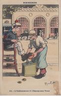 CPA Illustrateur Gervèse - Nos Marins - L'Ordonnance Ou Chacun Son Tour - Gervese, H.