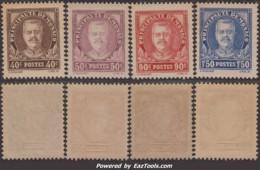 Série Prince  De 1933 Neuf ** Sans Charnière TB Et RARE (Y&T N° 115 à 118, Cote 138€) - Monaco