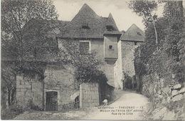 19 -Treignac - Maison De L'abbé - Rue De La Côte - Années 1900s - Avec Des Moutons - Treignac