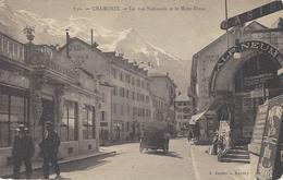 74 CHAMONIX RUE NATIONNALE (AUJOURD' HUI RUE VALLOT) HÔTEL DE PARIS CASINO MASSIF DU MONT BLANC Editeur GARDET 836 - Chamonix-Mont-Blanc