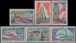 POLYNESIE FRANCAISE - Bateaux 1966 - Ungebraucht