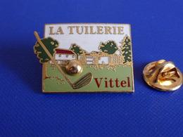 Pin's Golf - La Tuilerie - Vittel - Eau Minérale - Boisson (PD2) - Golf