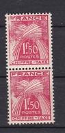 Timbre Taxe N° 71** (bloc De 2) - 1859-1955 Neufs