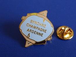 Pin's Natation Synchronisée - Synchro Champagne Ardenne - Gym Danse Nageuse (PQ17) - Natation