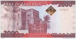 TANZANIA P. 42a 2000 S 2010 UNC - Tanzanie