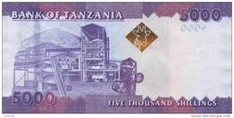 TANZANIA P. 43a 5000 S 2010 UNC - Tanzanie
