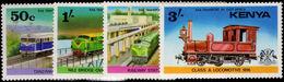 Kenya 1976 Railway Transport Unmounted Mint. - Kenya (1963-...)