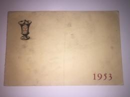 Invitation Au Bal De La Pharmacie - 1953 - Paris - Dessinateur TEYVAR - Programmes