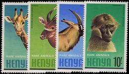 Kenya 1981 Rare Animals Unmounted Mint. - Kenya (1963-...)