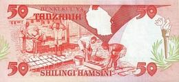 TANZANIA P. 16b 50 S 1986 UNC - Tanzanie