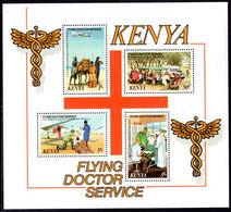Kenya 1980 Flying Doctor Souvenir Sheet Unmounted Mint. - Kenya (1963-...)
