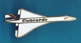 PIN'S //  ** AVION DE LIGNE SUPERSONIQUE / LE CONCORDE / AIR FRANCE ** - Airplanes