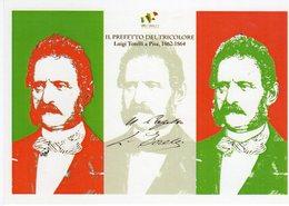 Pisa  2011 -  Celebrazioni 150° Anniv. Dell'Unità D'Italia - Il Prefetto Del Tricolore Luigi Torelli - - Storia