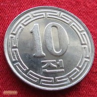 Korea North 10 Chon 1959 KM# 3 UNC  Corea Coreia Do Norte Koree Coree - Corée Du Nord