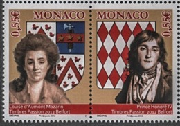 ** MONACO 2012 DUO  N°2847/48 NEUFS - Monaco