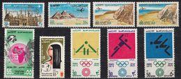 EGITTO - Lotto Di 9 Valori Usati Di Posta Aerea: Yvert 133 (regolare E Varietà), 136, 137, 138, 141, 142, 151 E 158. - Poste Aérienne