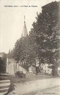 "CPA FRANCE 01 "" Seyssel, La Place De L'église "" - Seyssel"