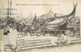 "CPA FRANCE 13 "" Marseille, La Celebre Sardine Marseillaise "" - Autres"