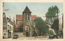 "CPA FRANCE 92 "" Clichy, église "" - Clichy"