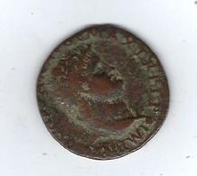 Monnaie Romaine Néron 54/68 Sesterce - 1. The Julio-Claudians (27 BC To 69 AD)