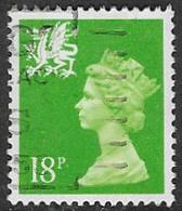 Wales SG W48 1991 Machin 18p Good/fine Used [5/5393/25D] - Emissions Régionales