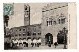 ITALIE  /  TREVISO  /  PIAZZA  DEI  SIGNORI  E  PALAZZO  DEI  TRECENTO  /  Edit.  L. ZOPPELLI - Treviso