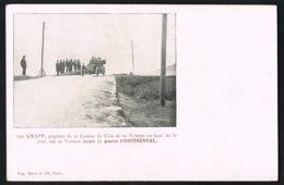 LA TURBIE - 06 - SIR KNAPP,gagnant De La Course De Côte -Pneus CONTINENTAL- Recto Verso-Paypal Sans Frais - La Turbie