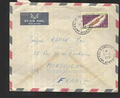 Afars Et Issas   Lettre Par Avion Du 27  Mai 1970 De  Djibouti  Vers Montluçon - Afars Et Issas (1967-1977)