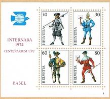 ** BLOC NEUF 1974 C/.S.B.K. Nr:W50. Y&TELLIER Nr:22. MICHEL Nr:BI.22. ** - Suisse