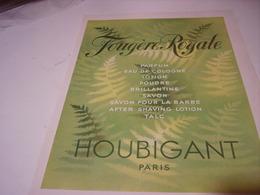 ANCIENNE PUBLICITE PARFUM BIENAIMEE DE HOUBIGANT 1941 - Parfums & Beauté