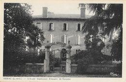 Nérac (Lot-et-Garonne) - L'Ecole Primaire Supérieure De Garçons Et De Filles - Lot De 2 Cartes CIM Non Circulées - School