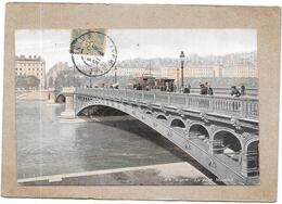 LYON - 69 - CPA COLORISEE - Le Pont Morand - DELC5 - - Lyon