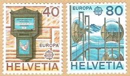 ** EUROPA  LA SERIE NEUF 1979 C/.S.B.K. Nr:630/631. Y&TELLIER Nr:1084/1085. MICHEL Nr:1154/1155.** - Suisse