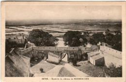 31rg  910 CPA - ENCEINTE DU CHATEAU DE NOIRMOUTIER - Noirmoutier