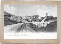SIENA - ITALIE - Veduta Di Siena Con Porta S Viene  - DELC5 - - Siena