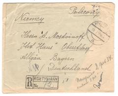 9303 - Pour L'Allemagne - Brieven En Documenten