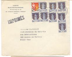 9314 - Tarif Des Imprimés  à 20 C - Marcofilie (Brieven)