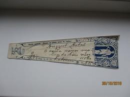 1937 ESTONIA    OSULA  PHARMACY DRUG  LABEL   , K. LEIBUR  , 0 - Vecchi Documenti